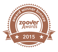 Zoover award winner bronze Posterbos