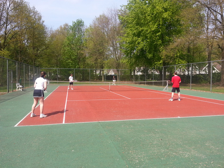Tennisbaan beton