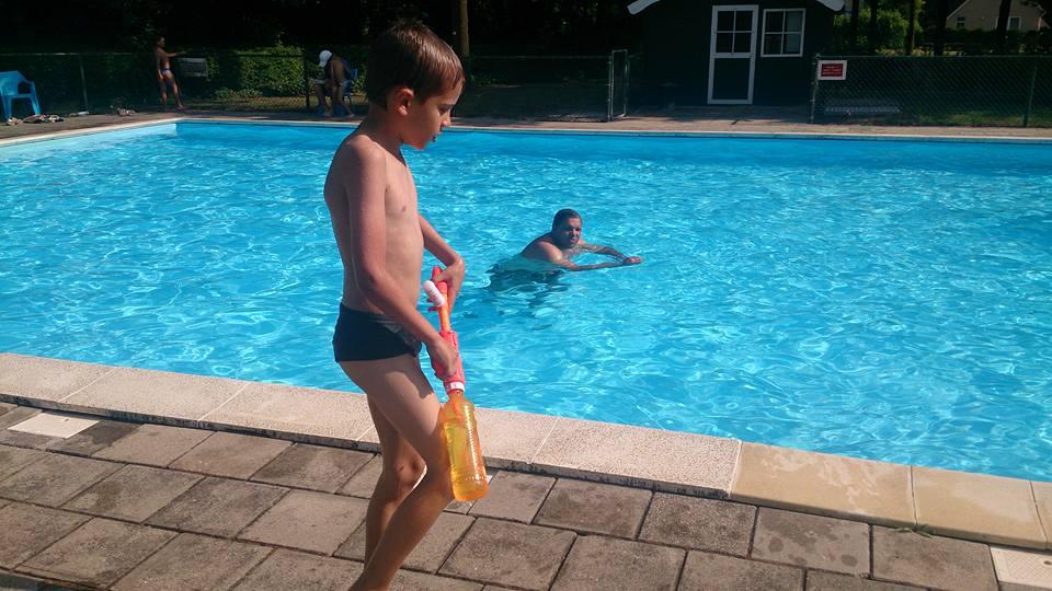 zwembadopening