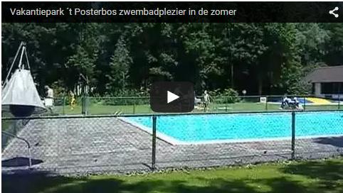 zwembadvideo vakantiepark posterbos