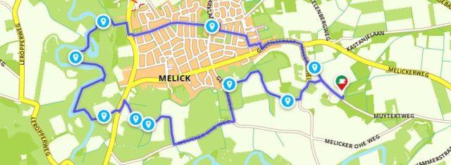 wandelen in Roerdal bij Melick
