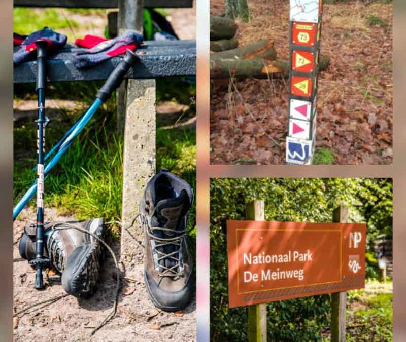 Hap & Stap wandelroute Park De Meinweg