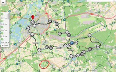 Fietstocht langs aspergevelden en Roermond